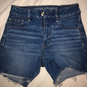 American eagle high wasted shorts